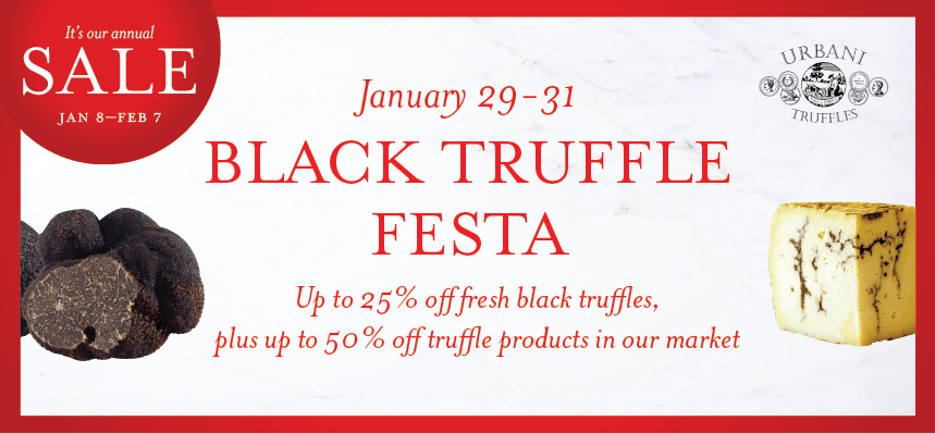 Celebrate Black Truffles at Eataly Downtown