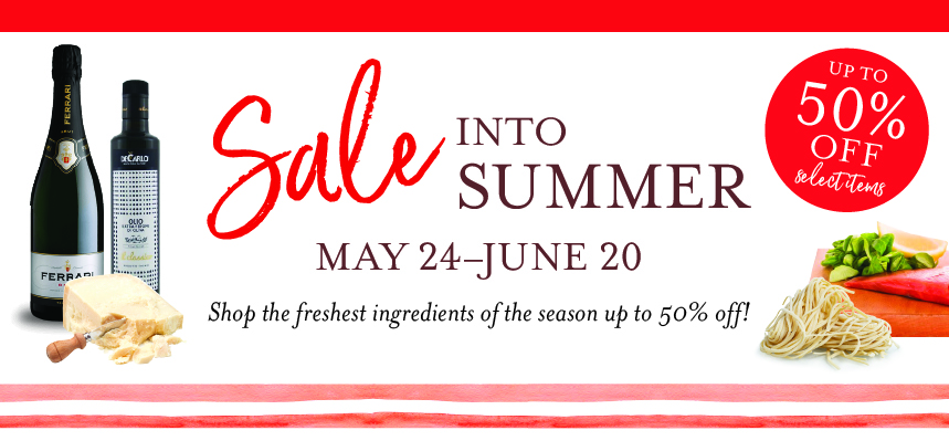 Sale into Summer at Eataly Chicago