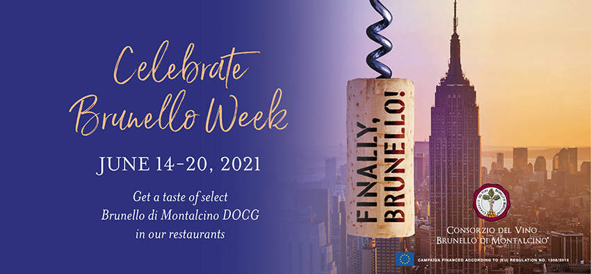 Brunello Week at Eataly NYC Downtown