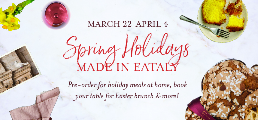 Pre-Order for Easter with Eataly Chicago